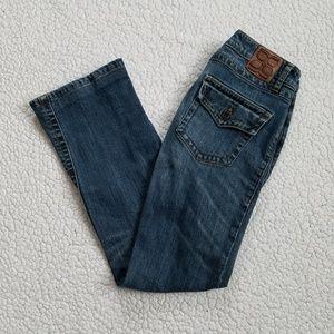 BCBGMAXAZRIA Jeans Women's 27 Blue